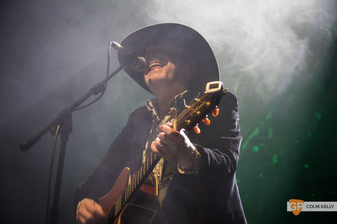 Luke Haines at Vicar Street, Dublin 18.2.2019 by Colm Kelly-9