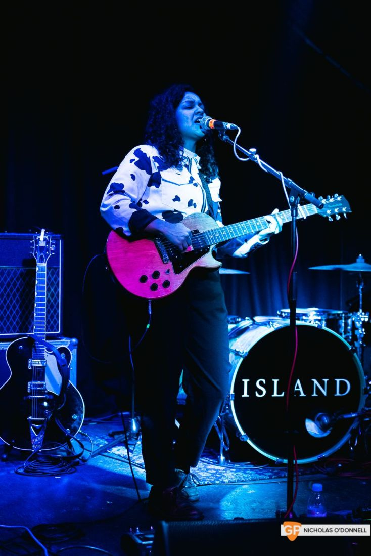Support 1- Elisha Shaddad at The Grand Social. By Nicholas O'Donnell.