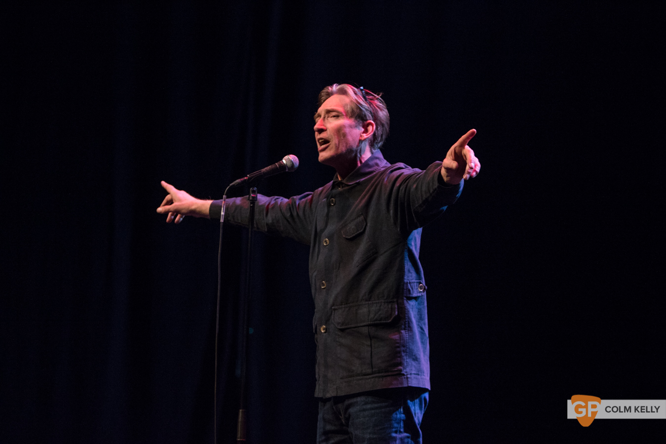 Mike Garry at Vicar Street, Dublin 19.3.2019 by Colm Kelly