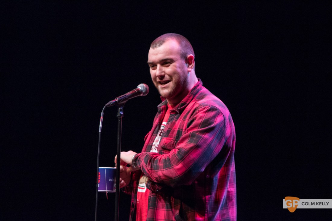 Stephen James Smith at Vicar Street, Dublin 19.3.2019 by Colm Kelly