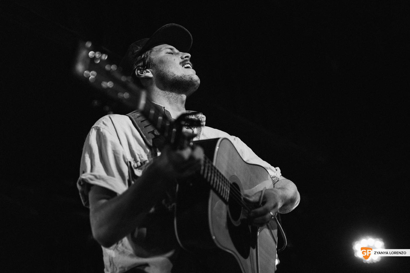 Ziggy Alberts live at Whelan's, Dublin. Photographed by Zyanya Lorenzo.