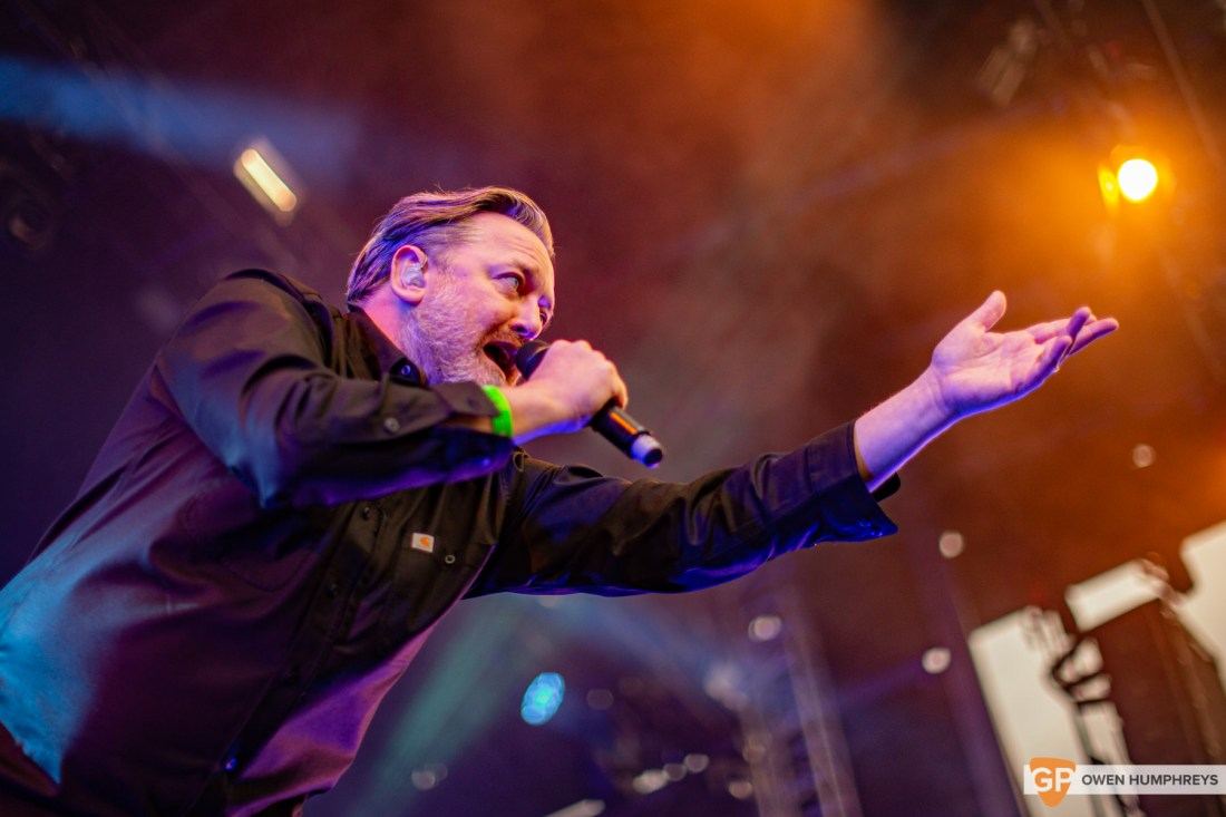 Elbow at Forbidden Frut 2019. Photo by Owen Humphreys. www.owen.ie