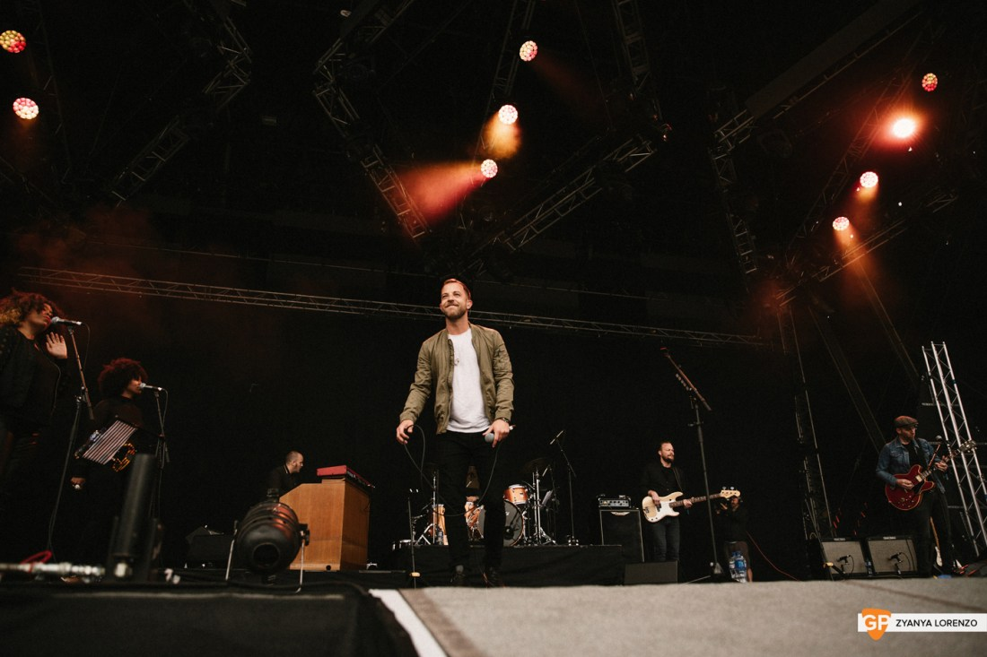 James Morrison live at St Anne's Park, Dublin. Photographed by Zyanya Lorenzo