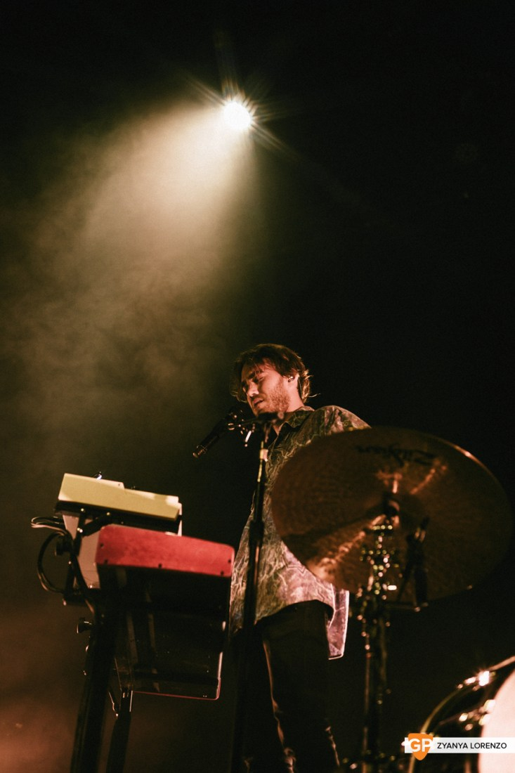 Matt Corby live at Vicar St, Dublin. Photographed by Zyanya Lorenzo.