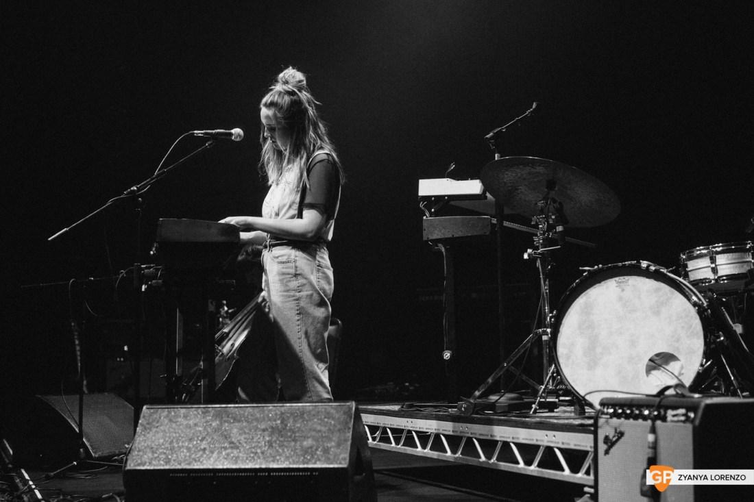 Molly Sterling live at Vicar St, Dublin. Photographed by Zyanya Lorenzo.