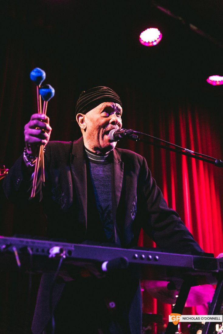 Roy Ayers peforming in The Sugar Club, Dublin. Photographs by Nicholas O'Donnell. (14 of 15)