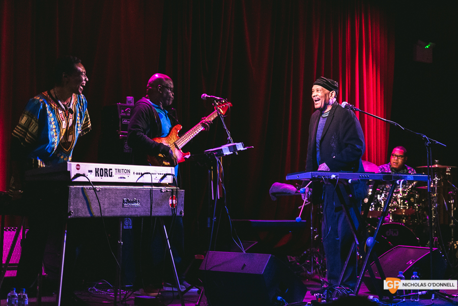 Roy Ayers peforming in The Sugar Club, Dublin. Photographs by Nicholas O'Donnell. (6 of 15)