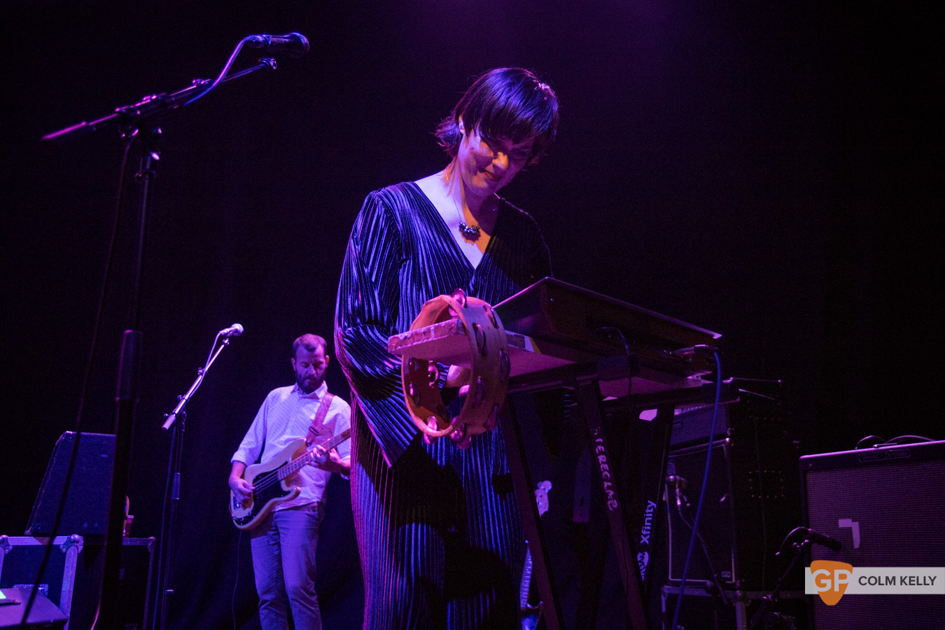 Stereolab at Vicar Street by Colm Kelly-213