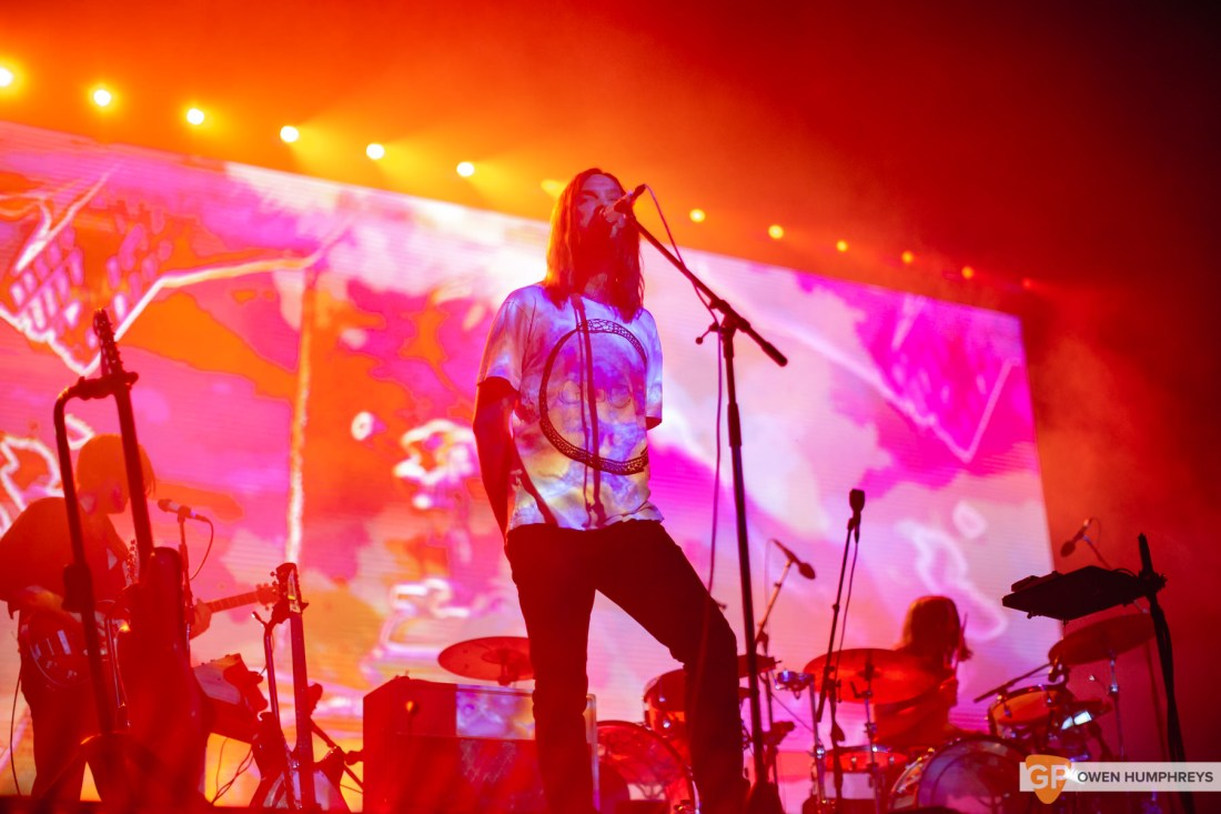 Tame Impala at The 3Arena .Photo by Owen Humphreys. www.owen.ie