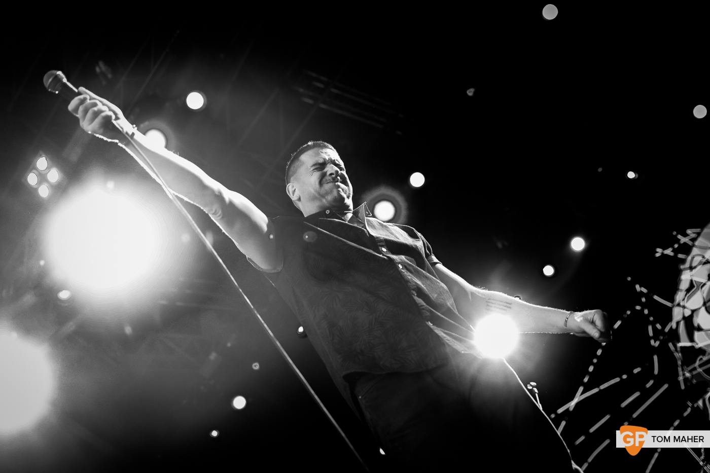 Damien Dempsey at Iveagh Gardens, Dublin. 6th July 2019. Photo: Tom Maher