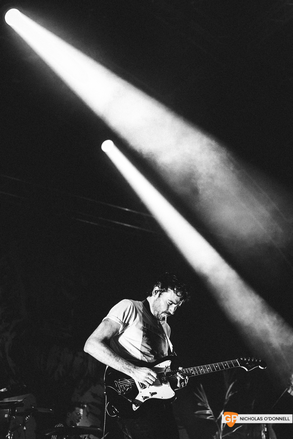 Foals performing at the Summer Series in Trinity College. Photographs by Nicholas O'Donnell. (8 of 19)