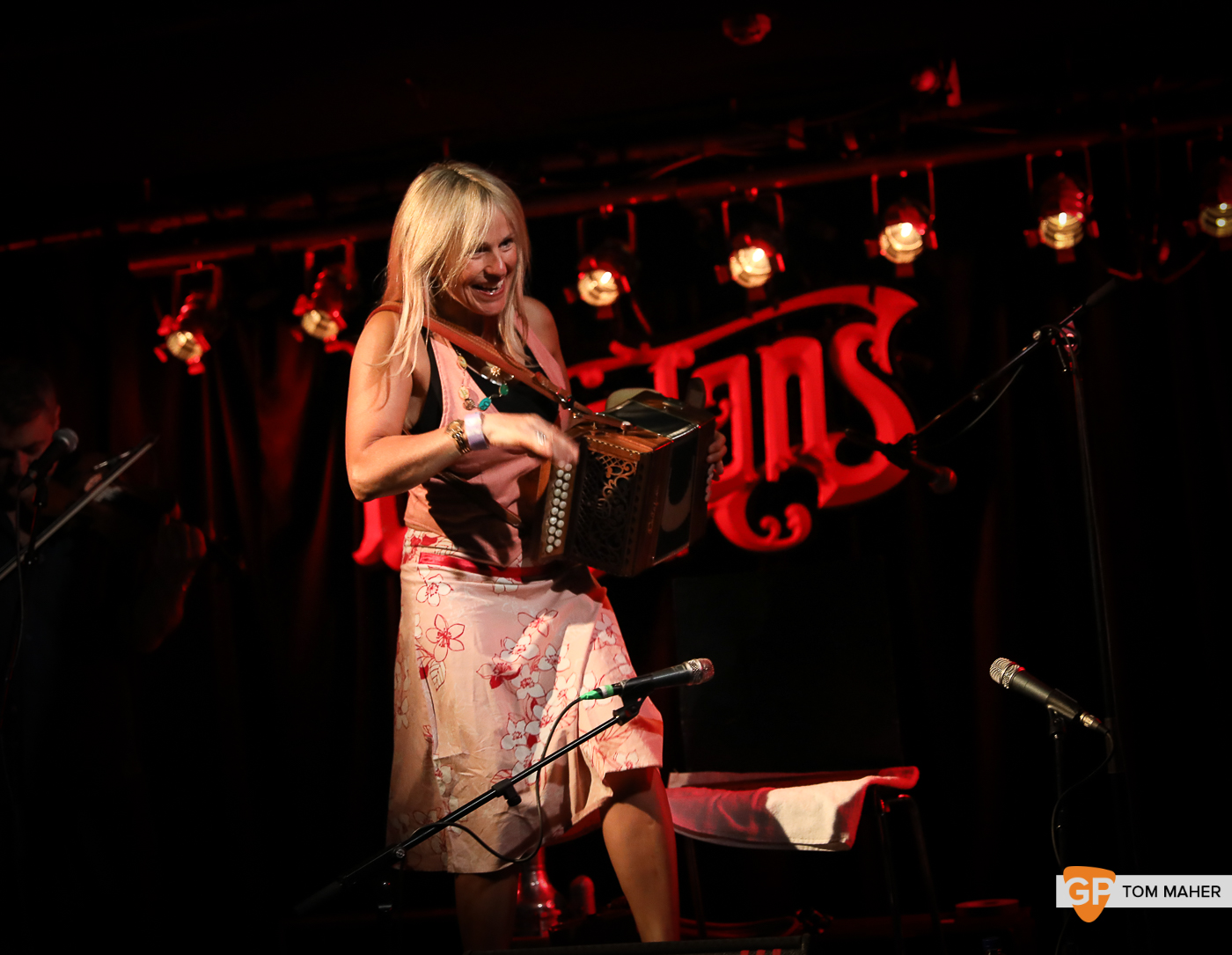 Sharon Shannon at Whelans. Photo by Tom Maher. 12th July 2019