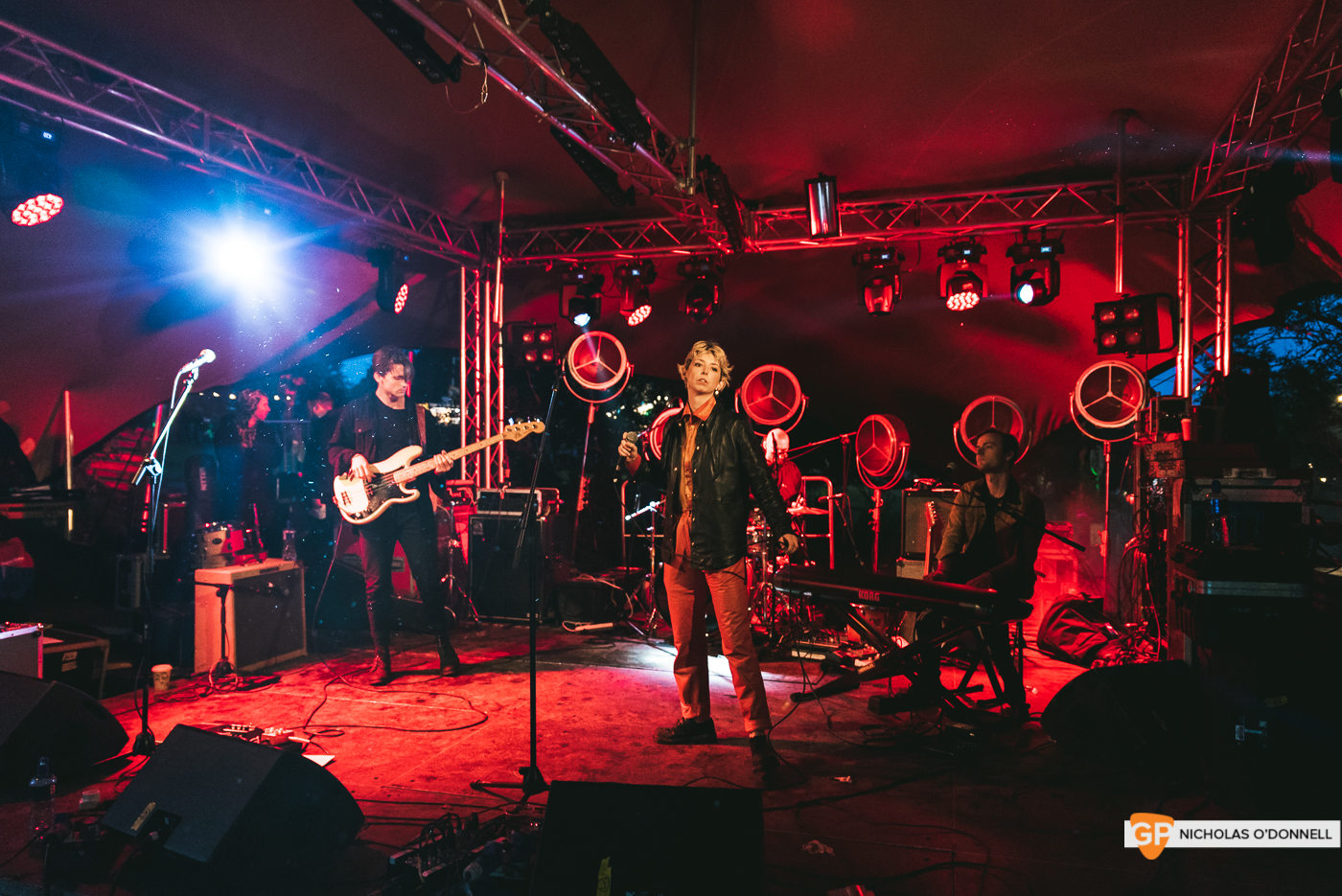 Soda Blonde perforing at the Faerie stage at KnockanStockan 19. Photos by Nicholas O_Donnell. (1 of 7)