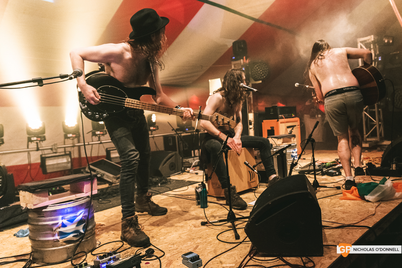 The Scratch performing on the Dimestore stage at KnockanStockan 19. Photos by Nicholas O_Donnell. (7 of 9)