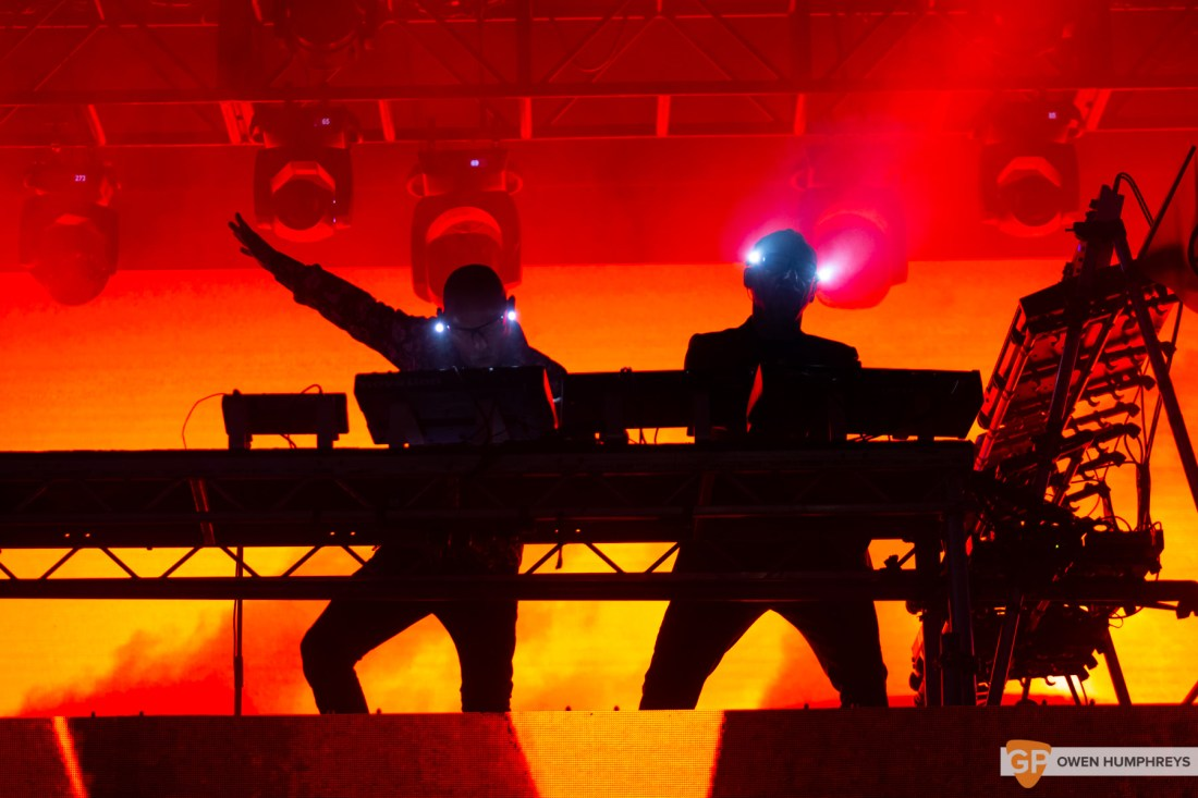 Orbital at All Together Now 2019. Photo by Owen Humphreys. www.owen.ie