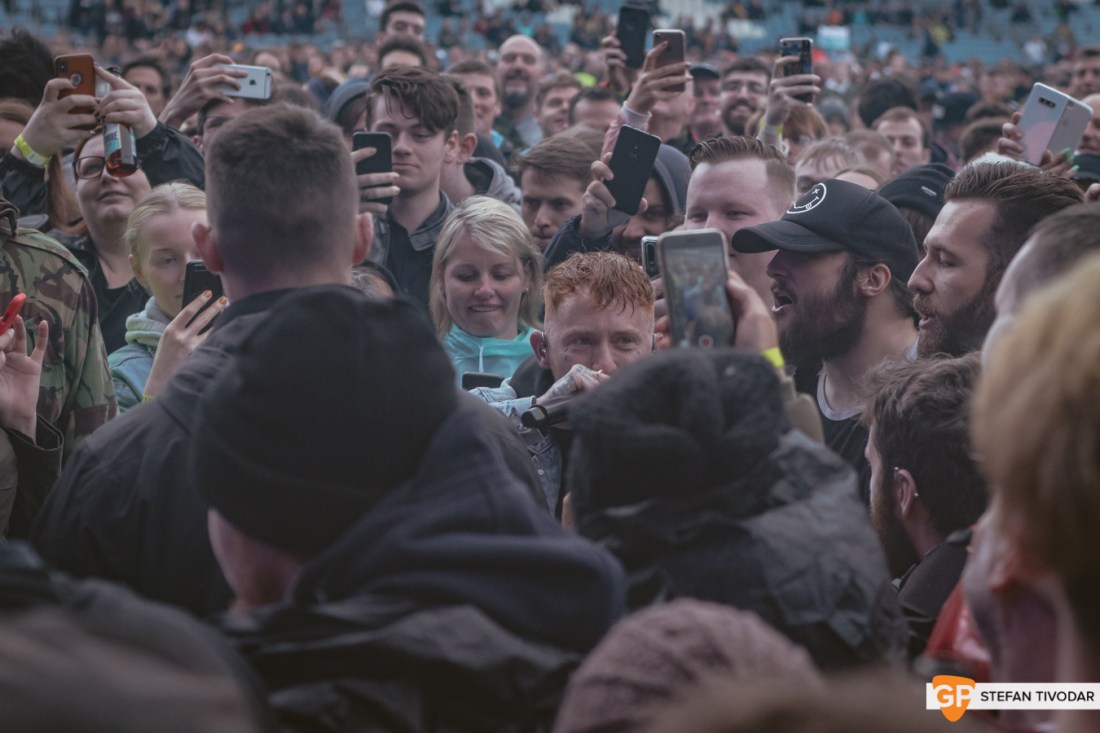 Frank Carter Foo Fighters RDS August 2019 Tivodar 12