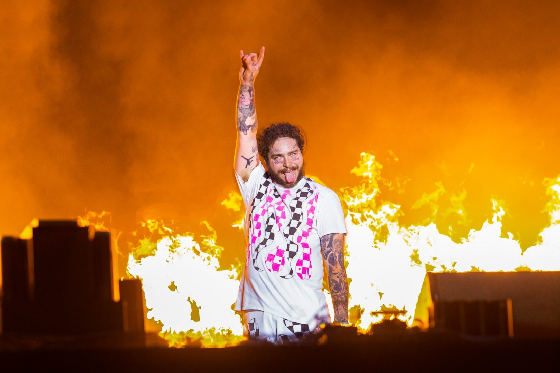 Post Malone at The RDS Arena. Photo by Owen Humphreys. www.owen.ie