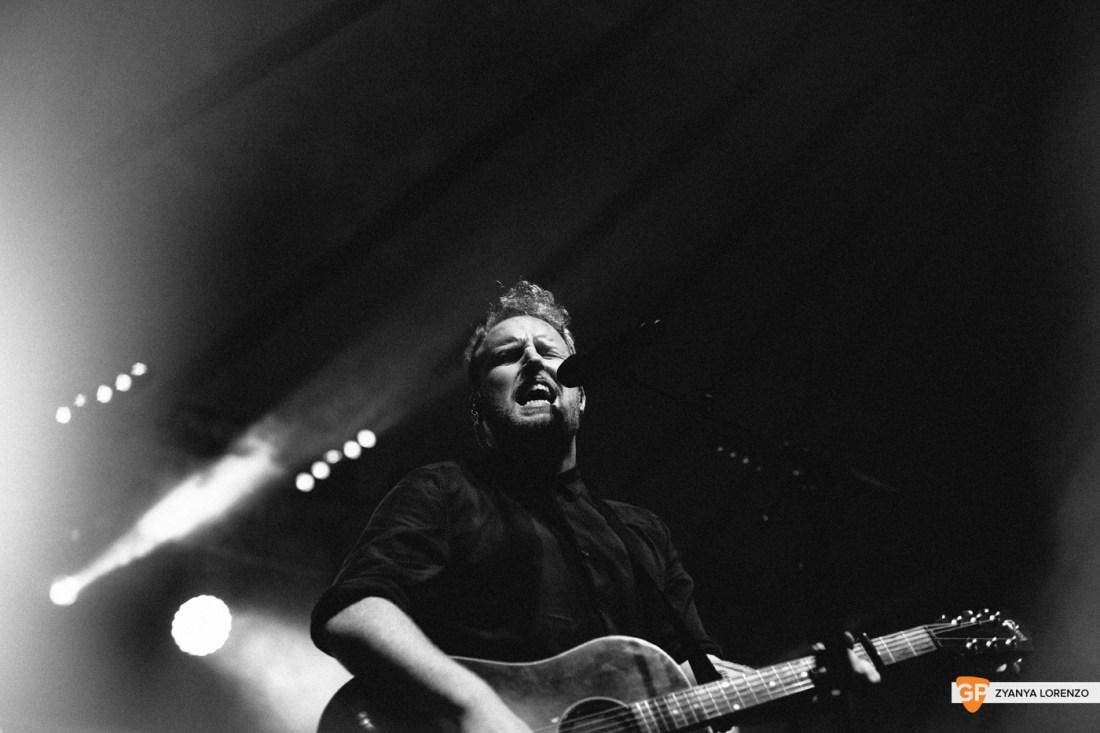Gavin James live at Independence, Cork. Photographed by Zyanya Lorenzo.