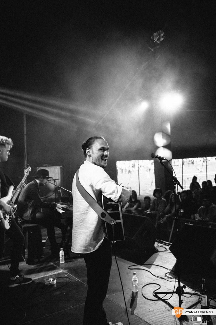 Tiz McNamara live at Independence, Cork. Photographed by Zyanya Lorenzo.