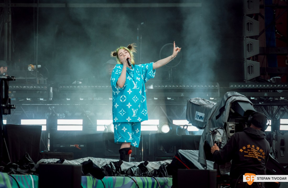 Billie Eilish Lolla Berlin 2019 Day 1 Tivodar 7