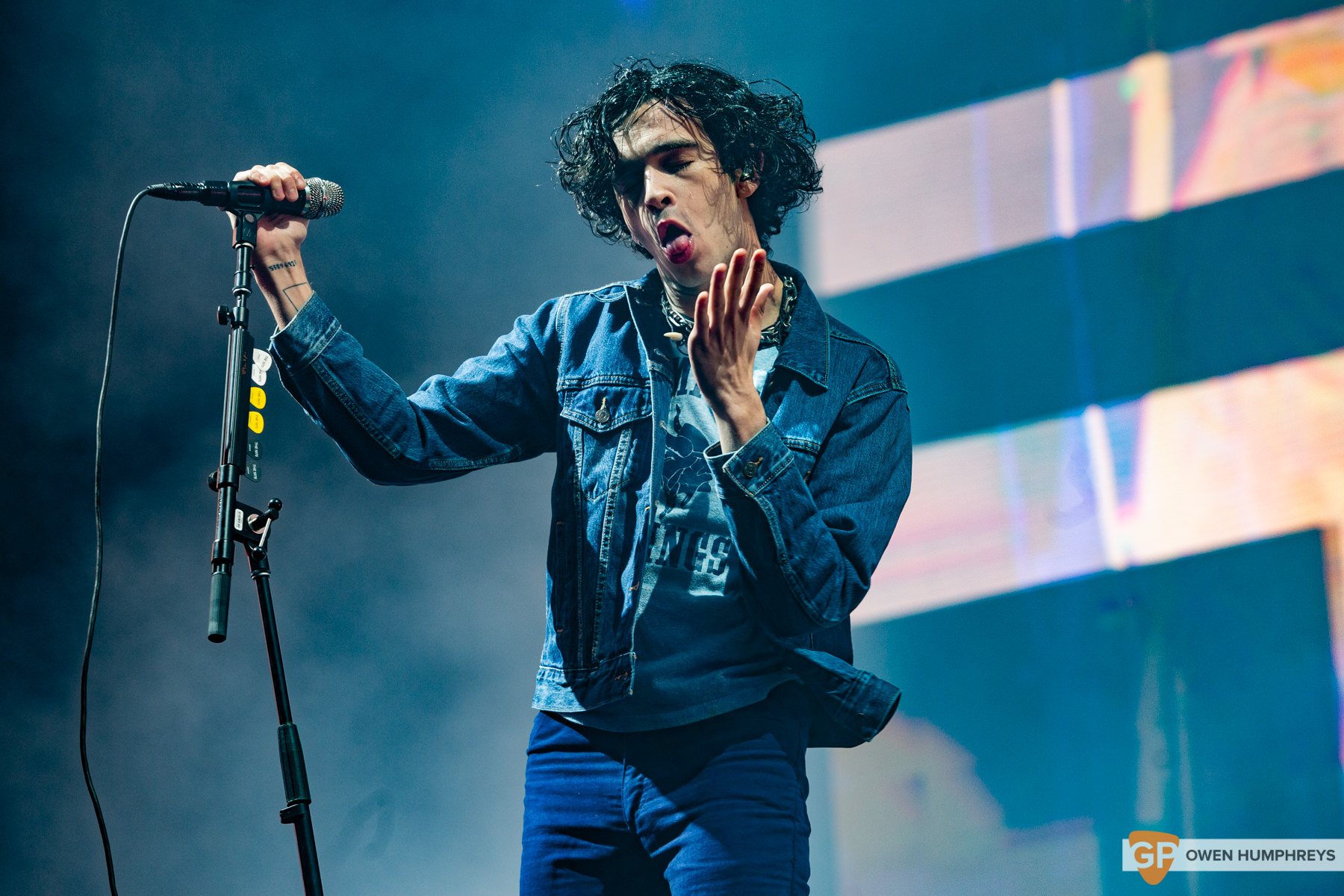 The 1975 at Electric Picnic 2019. Photo by Owen Humphreys. www.owen.ie