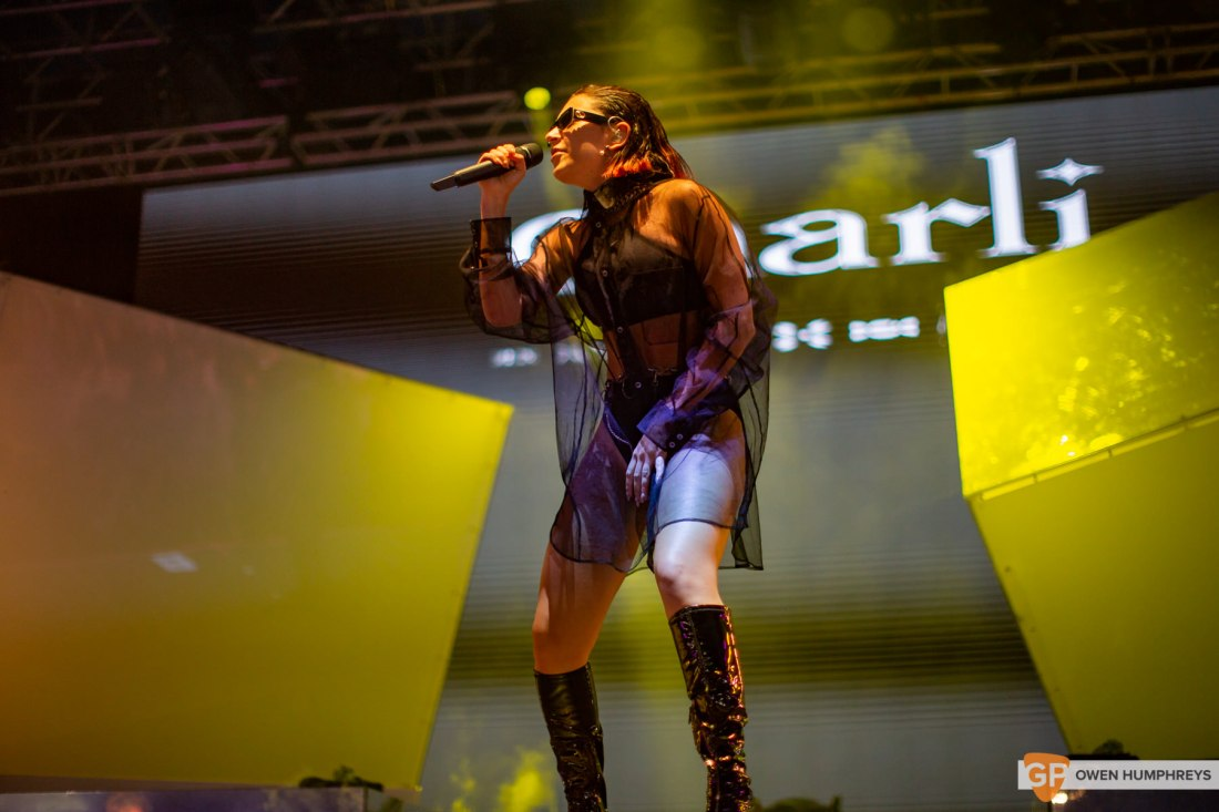 Charli XCX at Electric Picnic 2019. Photo by Owen Humphreys. www.owen.ie