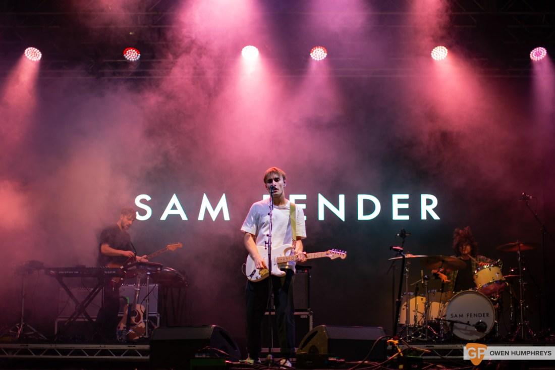 Sam Fender at Electric Picnic 2019. Photo by Owen Humphreys. www.owen.ie