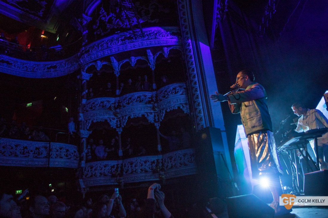 Hot Chip at The Olympia Theatre, Dublin 17.10.2019 Copyright Colm Kelly-107