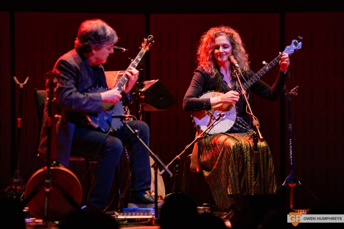Bela Fleck & Abigail Washburn at The National Concert Hall. Photo by Owen Humphreys. www.owen.ie-1
