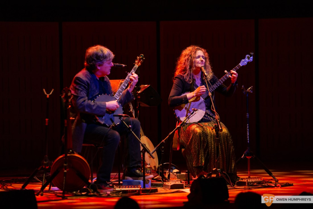 Bela Fleck & Abigail Washburn at The National Concert Hall. Photo by Owen Humphreys. www.owen.ie-6