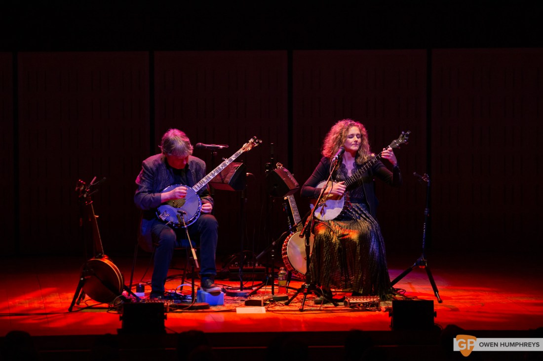 Bela Fleck & Abigail Washburn at The National Concert Hall. Photo by Owen Humphreys. www.owen.ie-8