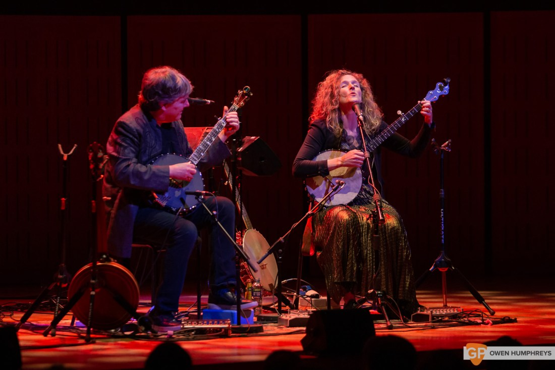 Bela Fleck & Abigail Washburn at The National Concert Hall. Photo by Owen Humphreys. www.owen.ie-9