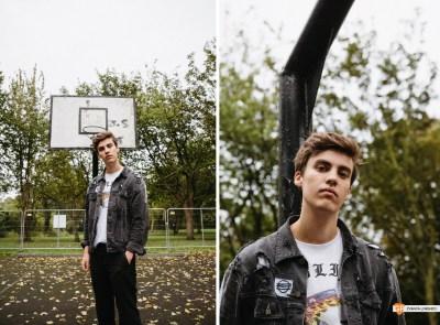 JC Stewart photographed by Zyanya Lorenzo.