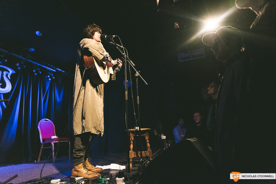 Fionn Regan performing in Whelan's to a sold out crowd. Photos by Nicholas O'Donnell. (4 of 15)