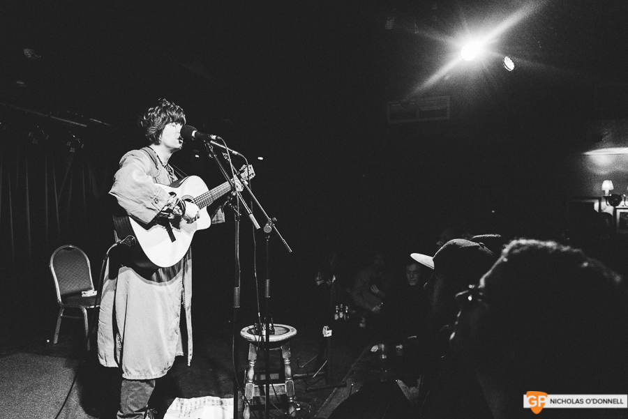 Fionn Regan performing in Whelan's to a sold out crowd. Photos by Nicholas O'Donnell. (5 of 15)