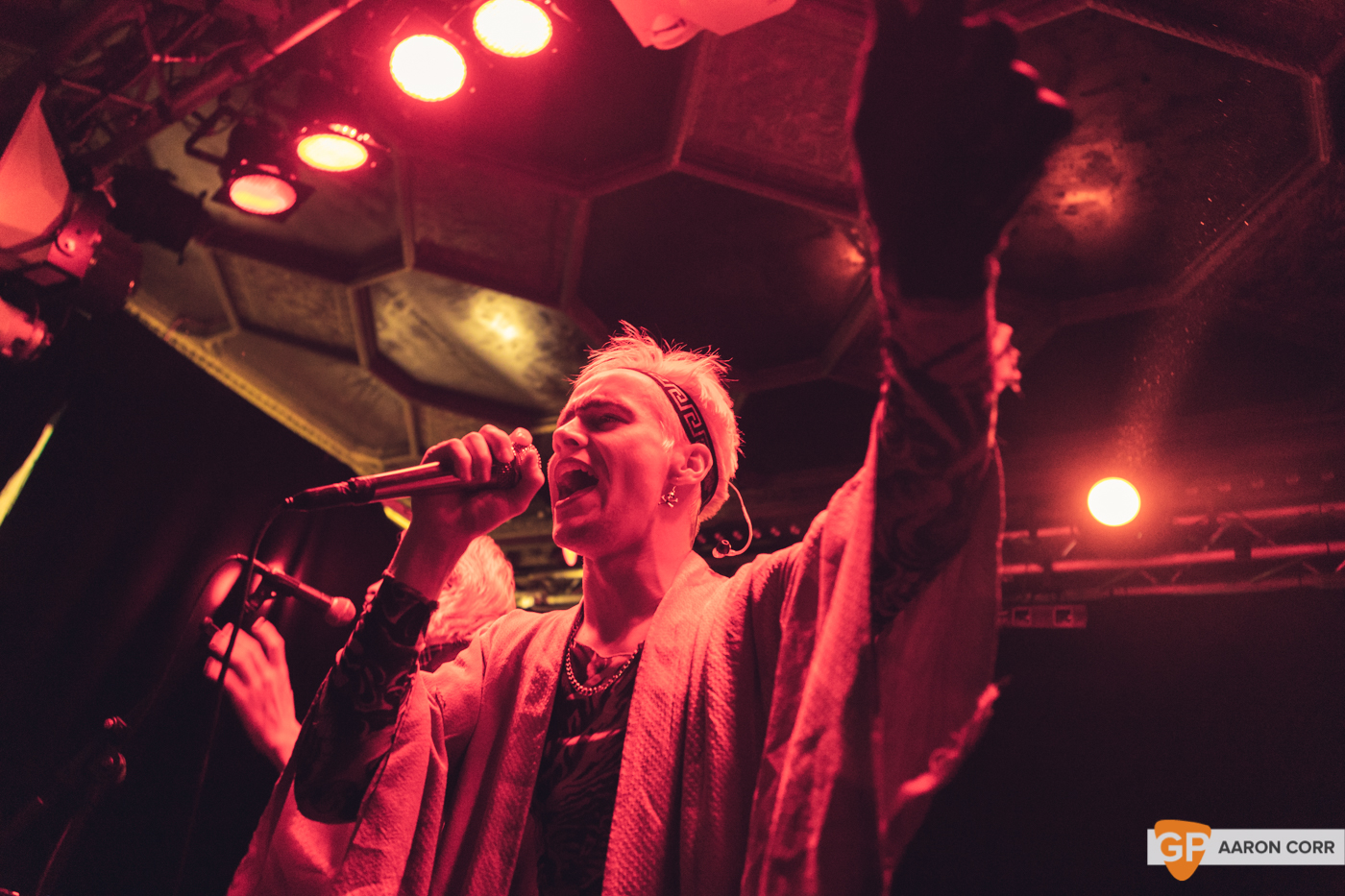 HMLTD live at The Sound House, Dublin on 17-Feb-20 by Aaron Corr-2183