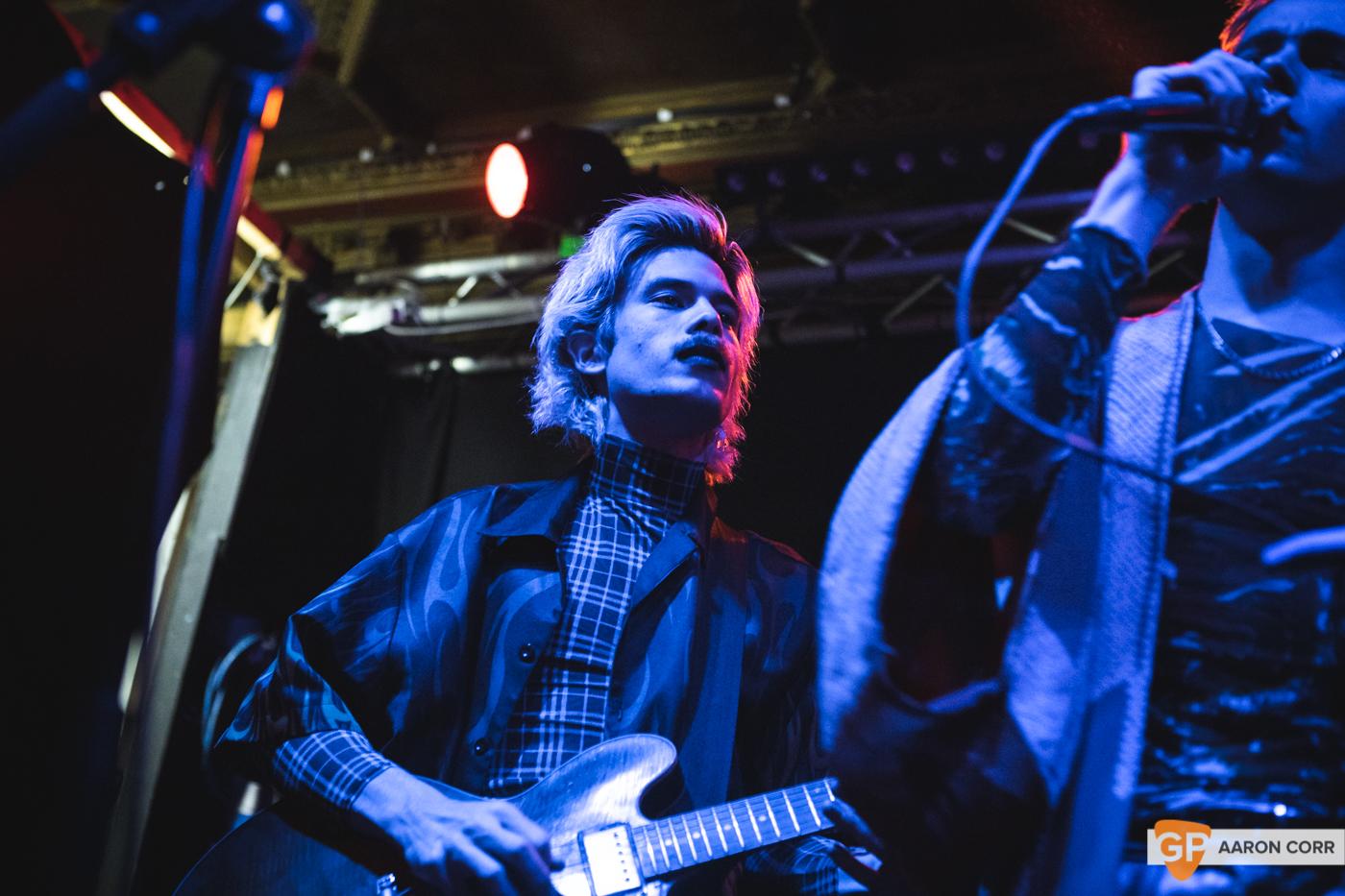 HMLTD live at The Sound House, Dublin on 17-Feb-20 by Aaron Corr-2197