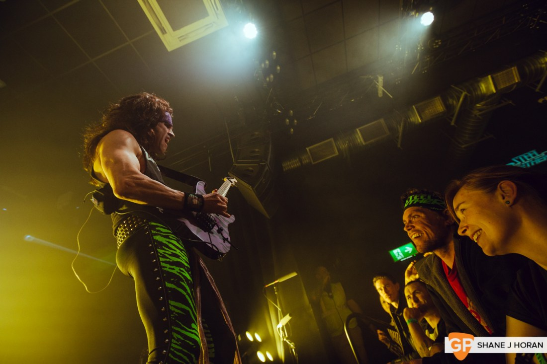 Steel Panther, Cyprus Avenue, Cork, Shane J Horan, 17-02-20-5