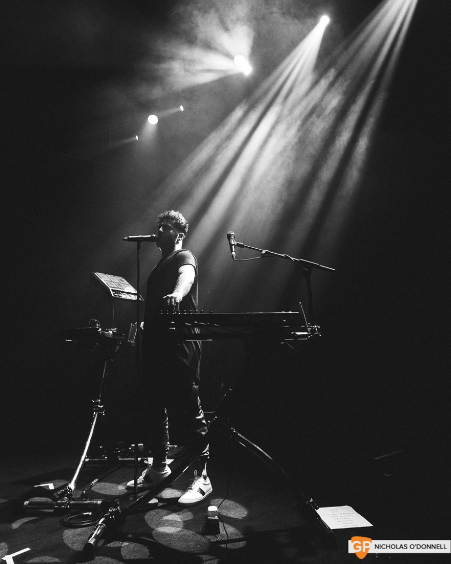 Support 2- Elderbrook opening for Milky Chance in Vicar Street. Photos by Nicholas O'Donnell. (3 of 5)