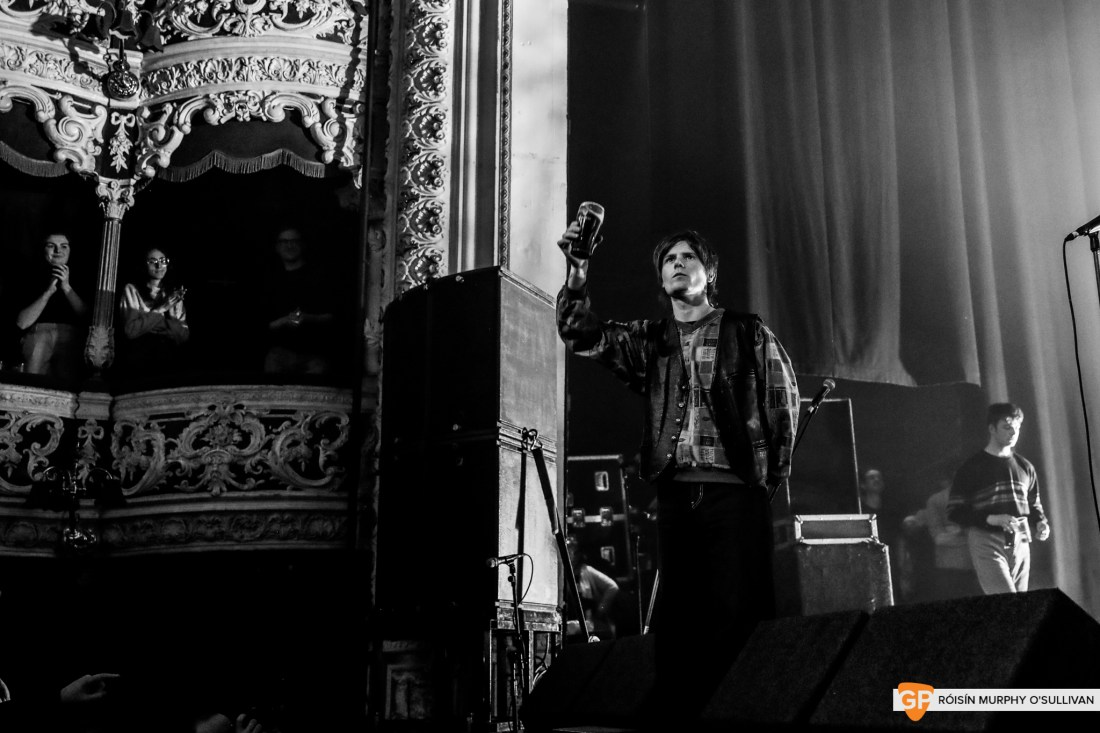 Fontaines D.C in The Olympia by Roisin Murphy O'Sullivan (1 of 21)