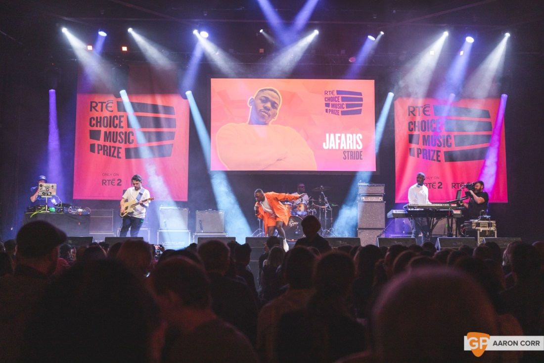 Jafaris at Choice Music Prize 2020 in Vicar Street, Dublin on 05-Mar-20 by Aaron Corr-2560