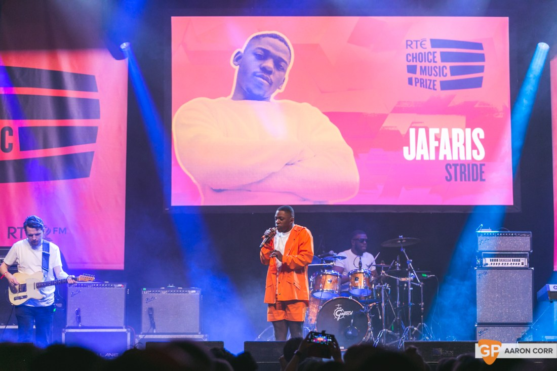 Jafaris at Choice Music Prize 2020 in Vicar Street, Dublin on 05-Mar-20 by Aaron Corr-5132