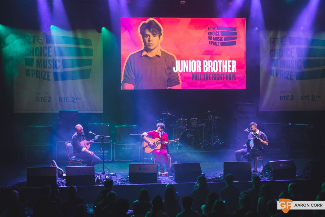 Junior Brother at Choice Music Prize 2020 in Vicar Street, Dublin on 05-Mar-20 by Aaron Corr-2544