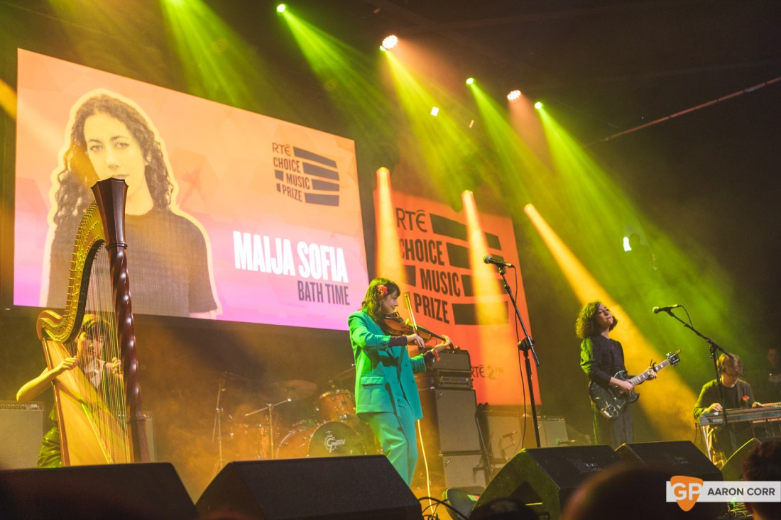 Maija Sofia at Choice Music Prize 2020 in Vicar Street, Dublin on 05-Mar-20 by Aaron Corr-2488