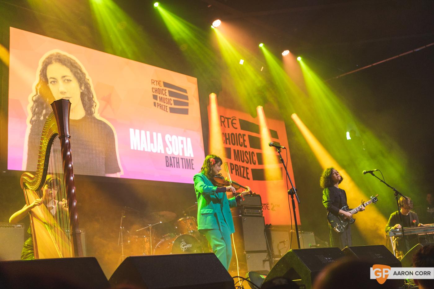 Maija Sofia at Choice Music Prize 2020 in Vicar Street, Dublin on 05-Mar-20 by Aaron Corr-2488