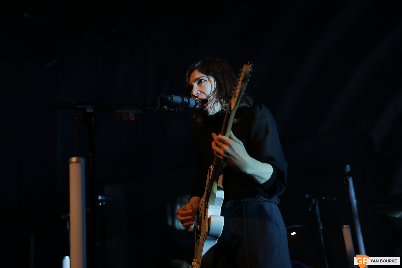 Sleater-Kinney at Vicar Street on 1 March 2020 by Yan Bourke
