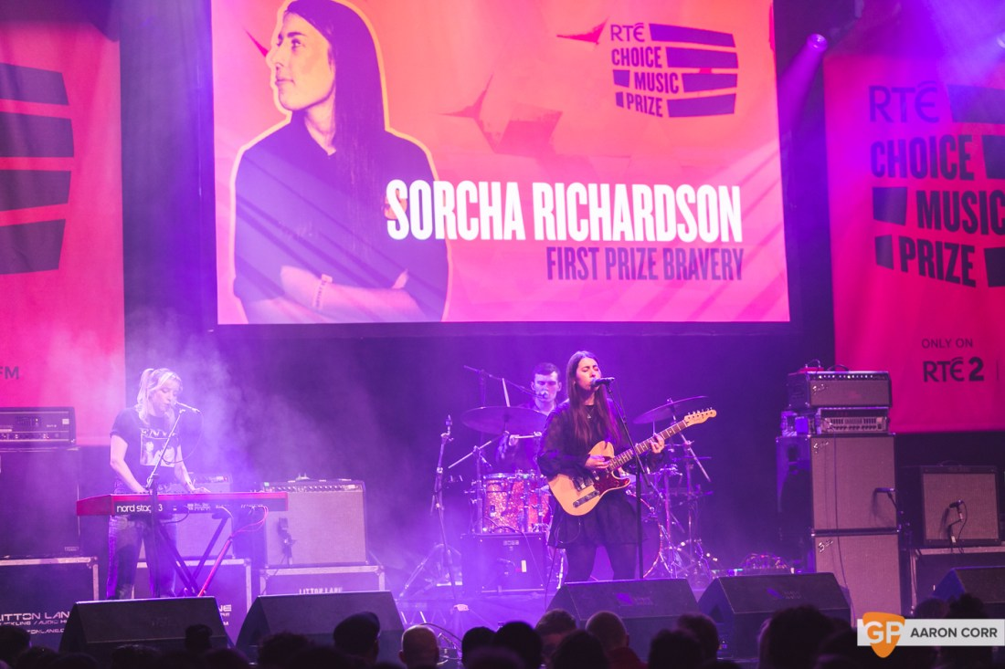 Sorcha Richardson at Choice Music Prize 2020 in Vicar Street, Dublin on 05-Mar-20 by Aaron Corr-5284
