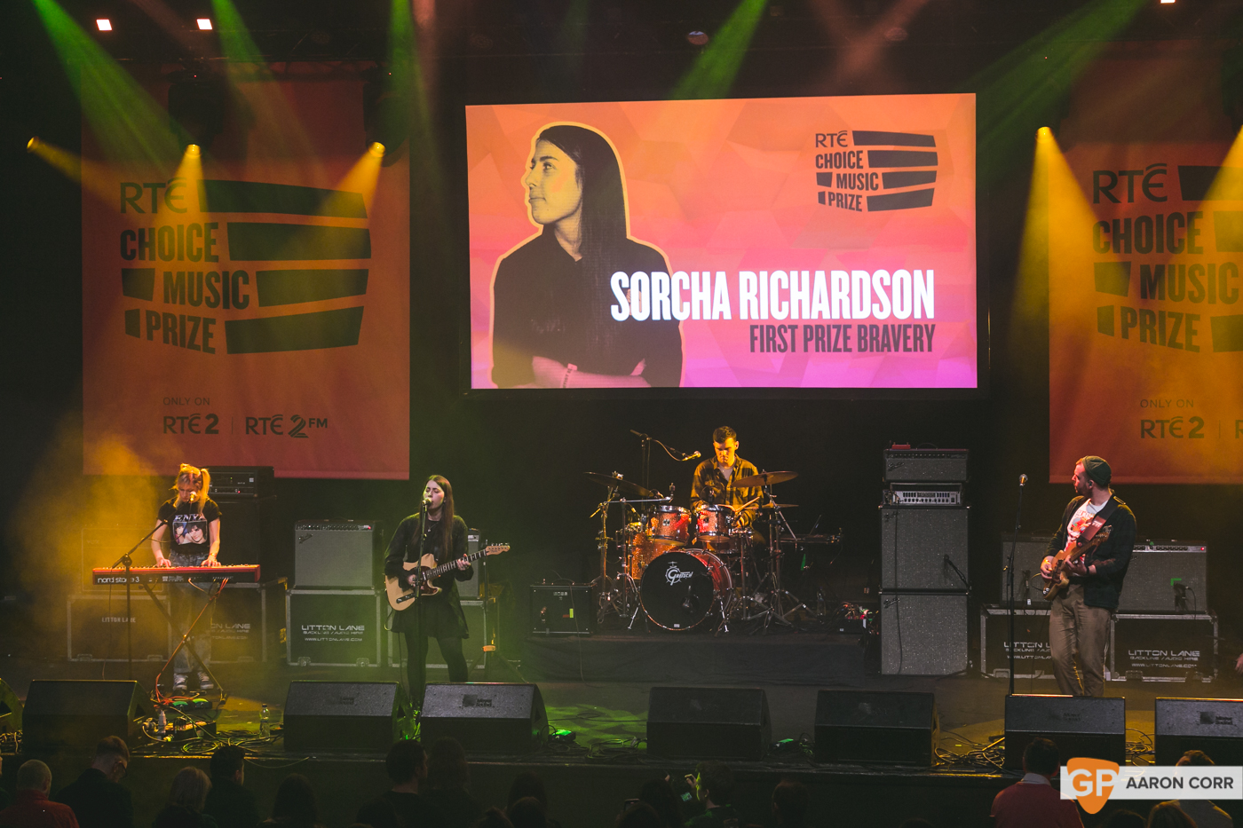 Sorcha Richardson at Choice Music Prize 2020 in Vicar Street, Dublin on 05-Mar-20 by Aaron Corr-5312