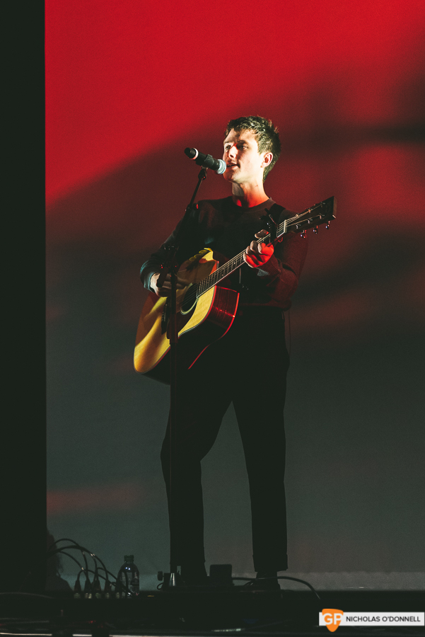 Support- Alec Benjamin supporing Lewis Capaldi in the 3Arena. Photos by Nicholas O'Donnell. (1 of 5)