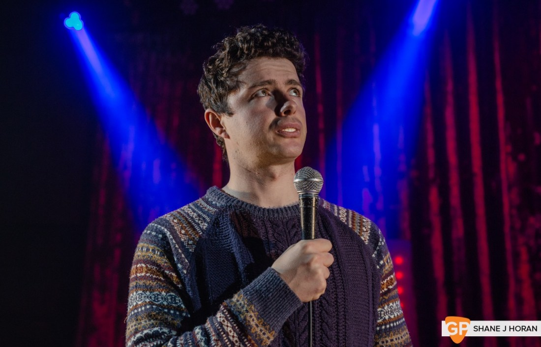 The CoCo Christmas Comedy Show pt1, Bernard Casey, Kino, Cork, Shane J Horan, 20-12-20-8